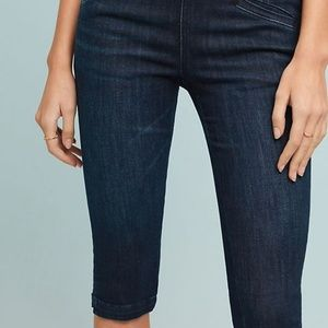 Anthropologie Pedal Pusher High-Rise Skinny Sz 25